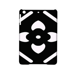 Black And White Pattern Background Ipad Mini 2 Hardshell Cases by Nexatart