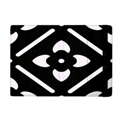 Black And White Pattern Background Ipad Mini 2 Flip Cases