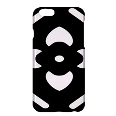 Black And White Pattern Background Apple Iphone 6 Plus/6s Plus Hardshell Case