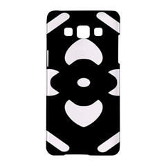 Black And White Pattern Background Samsung Galaxy A5 Hardshell Case