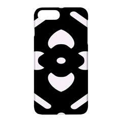 Black And White Pattern Background Apple Iphone 7 Plus Hardshell Case by Nexatart