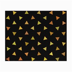 Shapes Abstract Triangles Pattern Small Glasses Cloth by Nexatart