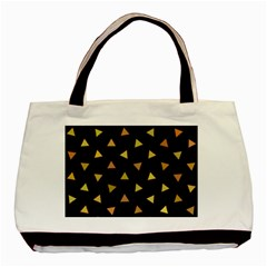 Shapes Abstract Triangles Pattern Basic Tote Bag by Nexatart