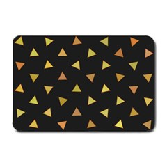 Shapes Abstract Triangles Pattern Small Doormat  by Nexatart