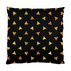 Shapes Abstract Triangles Pattern Standard Cushion Case (one Side) by Nexatart