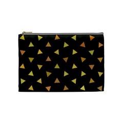 Shapes Abstract Triangles Pattern Cosmetic Bag (medium)