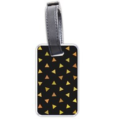 Shapes Abstract Triangles Pattern Luggage Tags (one Side)  by Nexatart
