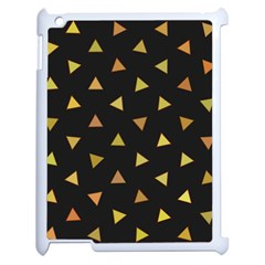 Shapes Abstract Triangles Pattern Apple Ipad 2 Case (white)