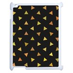 Shapes Abstract Triangles Pattern Apple iPad 2 Case (White) Front