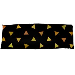 Shapes Abstract Triangles Pattern Body Pillow Case Dakimakura (two Sides) by Nexatart