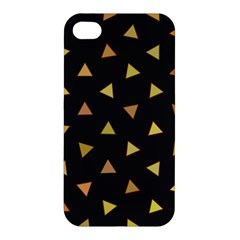 Shapes Abstract Triangles Pattern Apple Iphone 4/4s Premium Hardshell Case by Nexatart