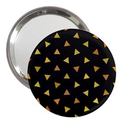 Shapes Abstract Triangles Pattern 3  Handbag Mirrors by Nexatart