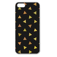 Shapes Abstract Triangles Pattern Apple Seamless Iphone 5 Case (clear)