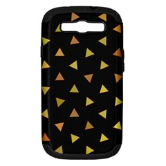 Shapes Abstract Triangles Pattern Samsung Galaxy S Iii Hardshell Case (pc+silicone)