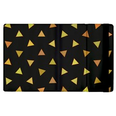 Shapes Abstract Triangles Pattern Apple Ipad 2 Flip Case