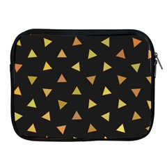 Shapes Abstract Triangles Pattern Apple Ipad 2/3/4 Zipper Cases