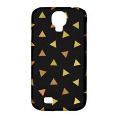 Shapes Abstract Triangles Pattern Samsung Galaxy S4 Classic Hardshell Case (pc+silicone)