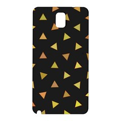 Shapes Abstract Triangles Pattern Samsung Galaxy Note 3 N9005 Hardshell Back Case by Nexatart