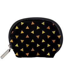 Shapes Abstract Triangles Pattern Accessory Pouches (small)
