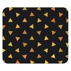 Shapes Abstract Triangles Pattern Double Sided Flano Blanket (small)