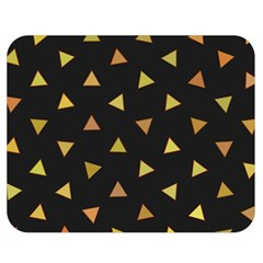Shapes Abstract Triangles Pattern Double Sided Flano Blanket (medium)  by Nexatart