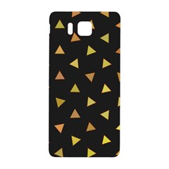Shapes Abstract Triangles Pattern Samsung Galaxy Alpha Hardshell Back Case by Nexatart