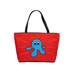 Creature Forms Funny Monster Comic Shoulder Handbags by Nexatart