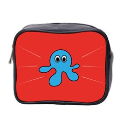 Creature Forms Funny Monster Comic Mini Toiletries Bag 2 Side
