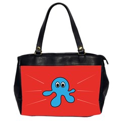 Creature Forms Funny Monster Comic Office Handbags (2 Sides)