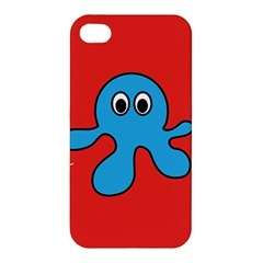 Creature Forms Funny Monster Comic Apple Iphone 4/4s Hardshell Case by Nexatart