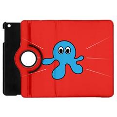 Creature Forms Funny Monster Comic Apple Ipad Mini Flip 360 Case by Nexatart