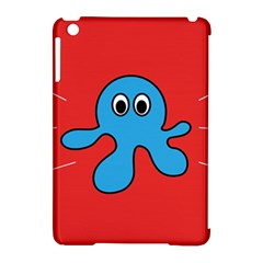 Creature Forms Funny Monster Comic Apple Ipad Mini Hardshell Case (compatible With Smart Cover)