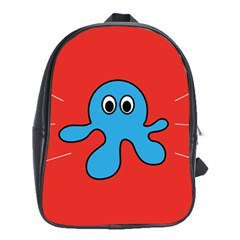 Creature Forms Funny Monster Comic School Bags (xl)