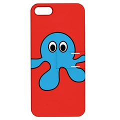 Creature Forms Funny Monster Comic Apple Iphone 5 Hardshell Case With Stand by Nexatart