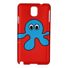 Creature Forms Funny Monster Comic Samsung Galaxy Note 3 N9005 Hardshell Case by Nexatart