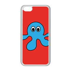 Creature Forms Funny Monster Comic Apple Iphone 5c Seamless Case (white)