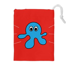 Creature Forms Funny Monster Comic Drawstring Pouches (extra Large)