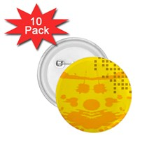 Texture Yellow Abstract Background 1 75  Buttons (10 Pack)