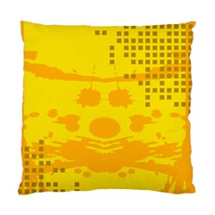 Texture Yellow Abstract Background Standard Cushion Case (two Sides)