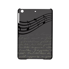 Music Clef Background Texture Ipad Mini 2 Hardshell Cases by Nexatart