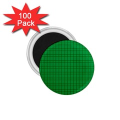 Pattern Green Background Lines 1 75  Magnets (100 Pack)  by Nexatart