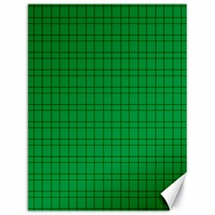 Pattern Green Background Lines Canvas 18  X 24   by Nexatart