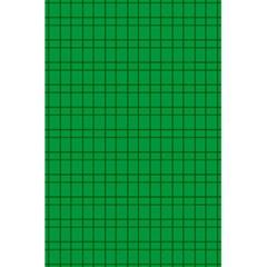 Pattern Green Background Lines 5 5  X 8 5  Notebooks by Nexatart
