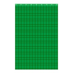 Pattern Green Background Lines Shower Curtain 48  X 72  (small)