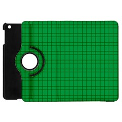 Pattern Green Background Lines Apple Ipad Mini Flip 360 Case
