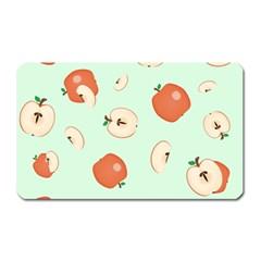 Apple Fruit Background Food Magnet (rectangular) by Nexatart