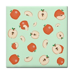 Apple Fruit Background Food Face Towel by Nexatart