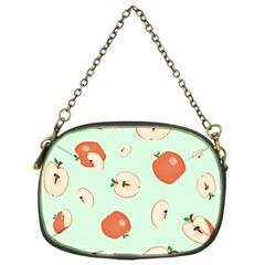 Apple Fruit Background Food Chain Purses (one Side)