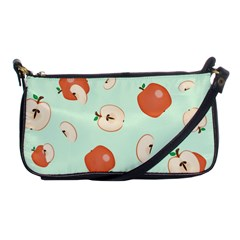 Apple Fruit Background Food Shoulder Clutch Bags by Nexatart