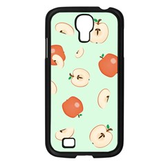 Apple Fruit Background Food Samsung Galaxy S4 I9500/ I9505 Case (black) by Nexatart